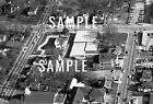 Lancaster SC 1971 Aerial Market St Pool, Library, First Baptist - Print Photo