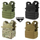 Condor Gunner Plate Carrier MOLLE PALS Tactical Gear Modular PC Vest One Size
