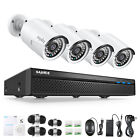 SANNCE 5MP 8CH NVR 1080P POE Security Camera System H.264+ Audio Recording Onvif