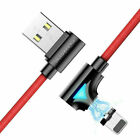FLOVEME Micro USB Magnetic Fast Charge Adapter Glow Charging Cable Cord US STOCK