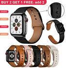 Genuine Leather Band Strap For Apple Watch Series 5 4 3 2 1 38/40/42/44mm iWatch image