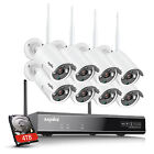 Kyпить SANNCE Full 1080P 8CH NVR Wireless 2MP Security IP Camera System IR Night Vision на еВаy.соm