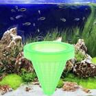 Aquarium Basket Feeder With Suction Cup Fish Food Spread Feeder Coned D7r6 W7d1