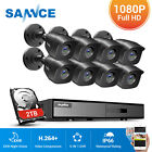 Kyпить SANNCE 8CH 1080P HDMI DVR CCTV Home 3000TVL Security Camera System Motion Alert на еВаy.соm
