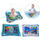 Fun Inflatable Water Cushion Baby Kids Tummy time Play Toys Ice Mat