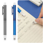 Automatic Telescopic Rubbers Pen-shaped Rubber Drawing Eraser Push Erasers Set