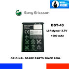 BATERIA GENUINA OEM SONY ERICSSON BST-43 BST 43 1000mAh ORIGINAL BATTERY 3,7V