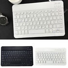 Universal Ultrathin Bluetooth Keyboard Slim Quiet Laptop for iPad Tabs
