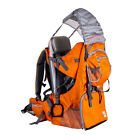 Baby Hiking Backpack Child Kid Toddler Carrier w/ Stand Sun Rain Canopy Shield