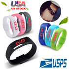 LED Digital Touch Screen Wrist Sport Watch For Men Women Boys Girls Kids Gift
