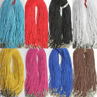 5pcs Leather Braid Rope Hemp Cord Lobster Clasp Chain Necklace Jewelry Making