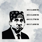 The Office Prison Mike -Vinyl Sticker Decal for Window,Laptop ,Any hard surface