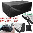 Waterproof Sunscreen Cover Outdoor Furniture Cover Yard Garden Chair Sofa Dust