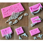 3d Silicone Cake Border Mold Fondant Lace Mold Diy Party Bakeware Accessorie New