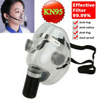Clear Face Mask Anti-Droplets Purify Respirator Silicone Reusable  Mouth Mask