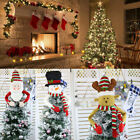 Snowman Christmas Tree Topper Cover Ornament Holiday Xmas Party Decor Treetop US