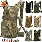AOKALI 15L Molle Tactical Backpack Military Hiking Camping Outdoor Sport Bag US