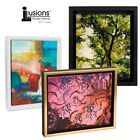 Illusions Canvas Finished Art Floater Frame, 3/4