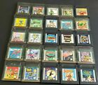 Nintendo Gameboy Color GBC GBA SP Games ~ Pick & Choose What You Need ~ Have Fun