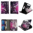 """10 inch tablet case for LG G Pad universal cover 10"""" 360 stand cash ID slots"""