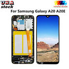 For Samsung Galaxy A10 A10S A20 A20E LCD Display Touch Screen Digitizer+ Frame