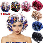 Kyпить Women Elastic Satin Bonnet Double Layer Sleep Cap Adjustable Night Hats X-Large на еВаy.соm