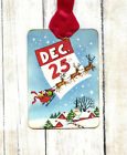 Hang Tags RETRO SANTA CLAUS CHRISTMAS TAGS or MAGNET 110 Gift Tags