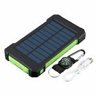 5000000mAh Waterproof Solar Power Bank 2 USB Battery Portable Charger for Phones
