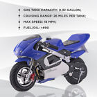 2020 4-STROKE 40cc GAS POCKET BIKE Mini-MOTORCYCLE for kids and Teens NO CA SALE
