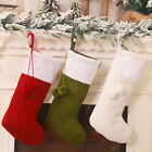 Christmas Stocking Sock Candy Gift Bag Container Tree Hanging Pendant Decor Eage