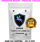 DMAE AND PHENYLETHYLAMINE Powder PEA improved cognition and mental focus MOOD