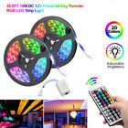 49FT 32FT Flexible 3528 RGB LED SMD Strip Light Fairy Lights Room TV Party Bar