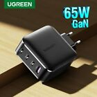 Ugreen USB C Charger PD 65W GaN Fast Charger Quick 3.0 4.0 SCP Fr iPhone 11 Pro