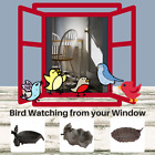 Small Bird Feeder Cast Iron or Ashtray for Cigars Cigarettes Outdoor