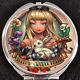 Princess Alice in Wonderland Tattoo Pinup Disney Makeup Compact Double Mirror