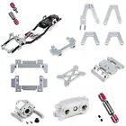1:10 Rc Model Car Upgrade Parts Metal Chassis Frame Prefixal Gearbox Set