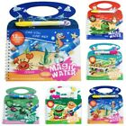 Reusable Water Drawing Book Color Doodles Paint Board Kids Funny Toy Gift