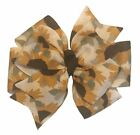 Sunflower Pinwheel Hair Bow