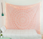 Popular Handicrafts Kp927 Elephant Twin Tapestry Hippie Mandala Bedding Indian R