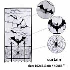 Halloween Lace Creepy Table Cloth Cover Window Door Nets Party Dress Decoration