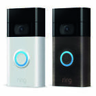 Brand New!! 2020 !! Ring Motion-Activated HD Video Doorbell 2nd Generation