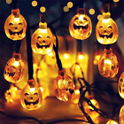 1.5m Halloween Decoration LED String Lights Lantern Home outdoor Party Garland L