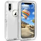 For Apple iPhone X XR XS Max 10 Shockproof Protective Rugged Defender Cover Case