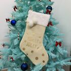 Cute Large Capacity Xmas Christmas Stocking Socks Gifts Bag Container Organizer