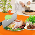Stainless Steel Bone Meat Cutting Aid Knife Blade Back Holder Cap Kitchen Tool E