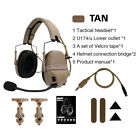 FMA FCS AMP Tactical Headset Communication Noise Reduction Hearing Protection