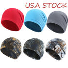 Tactical Camo / Solid Hat Windproof Fleece Mens Military Watch Skull Cap Beanie