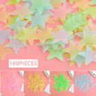 100 Pieces Glow In The Dark Star Stickers Lumilous Wall Sticker Kids Home Decor