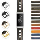 StrapsCo Leather Rally Band Strap for Fitbit Charge 4  Charge 3