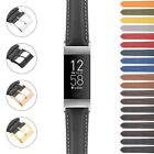 StrapsCo Classic Men's Band Strap for Fitbit Charge 4  Charge 3